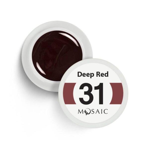 31 Deep Red