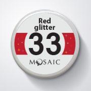 33 Red Glitter