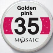 35 Golden Pink