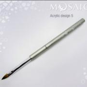 Mosaic Acrylic Design Brush #5