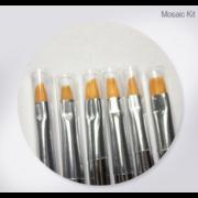 Mosaic One Stroke Brush Kit (Close)