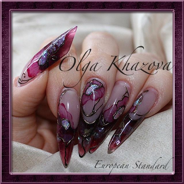Nail Design European Standard Nail Studio By Olga Khazova