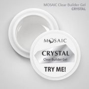 Mosaic Clear Builder Gel Crystal