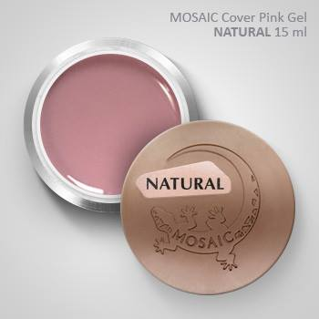 Mosaic Cover Pink Gel NATURAL