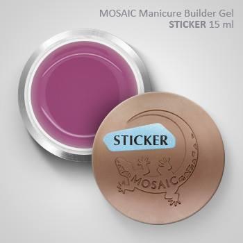 Mosaic Manicure Builder Gel STICKER