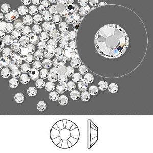 Swarovski Crystal Clear ss9