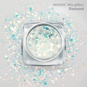 Mosaic Glitter Mix and Carnival Confetti Glitter