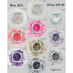 Glitter Mix Set of 10