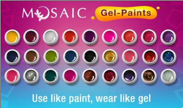 mosaic nail systems gel paint intro kit european