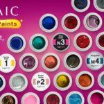 Mosaic Gel Paints Buy 10 Get 1 FREE