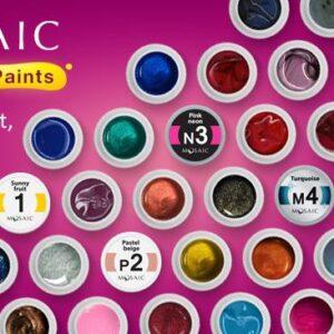 Mosaic Gel Paints