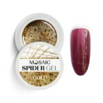 Spider Gel Gold Glitter