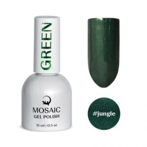 Mosaic Green Gel Polish Collection
