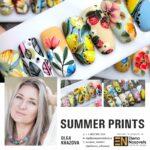 summer prints – online nail art course